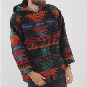 Men's or Ladies size Medium Aztec Woolrich Coat